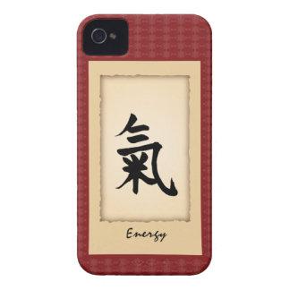 Kinesiskt fodral för tecken iPhone4 - energi iPhone 4 Case-Mate Case