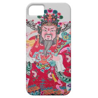 Kinesiskt nytt år kinesisk Mandarin 1 iPhone 5 Case-Mate Skydd