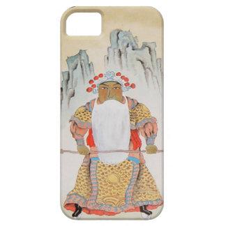 Kinesiskt nytt år kinesisk mandarin iPhone 5 Case-Mate fodraler