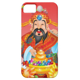 Kinesiskt nytt år kinesisk Mandarin iPhone 5 Fodral