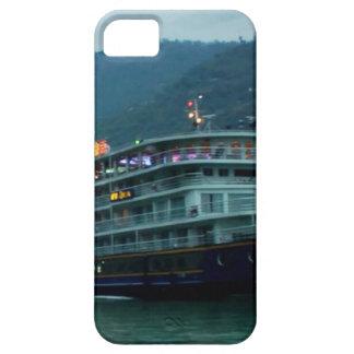 Kinesiskt turist- fartyg i floden Yangtz iPhone 5 Case-Mate Skal