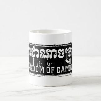 Kingdom of Cambodia Kaffemugg