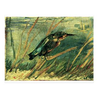 Kingfisheren av Vincent Van Gogh Vykort