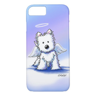 KiniArt ängelWestie iphone case