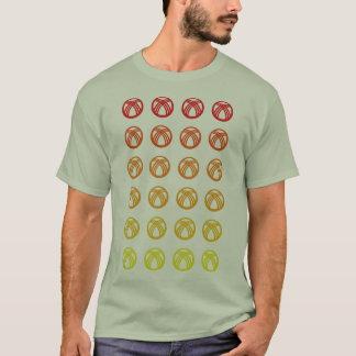 Kirgizistan (bleknade) Tunduk, T-shirt
