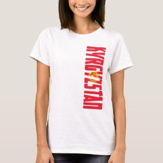 Kirgizistanflagga Tee Shirts