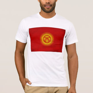 KirgizistanflaggaT-tröja Tshirts