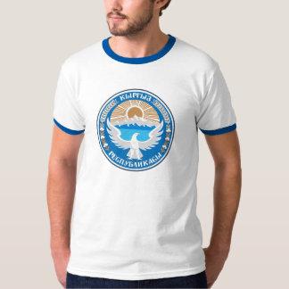 KirgizistanvapensköldT-tröja Tee