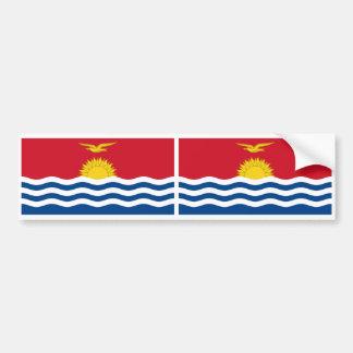 Kiribatisk flagga bildekal