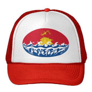 Kiribatisk Gnarly flaggahatt Baseball Hat