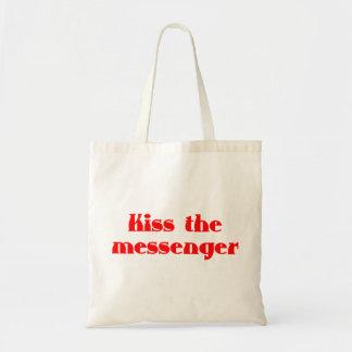 Kiss the messenger tragetasche