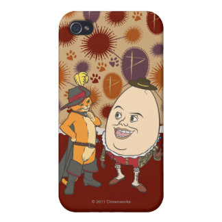 Kissekatt & Humpty iPhone 4 Cover