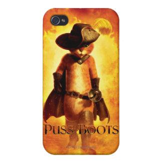 Kissekatt i kängor iPhone 4 skydd