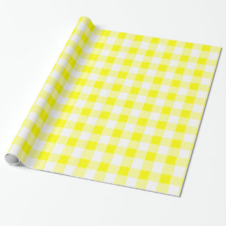 Kitschy gul Tablecloth Presentpapper