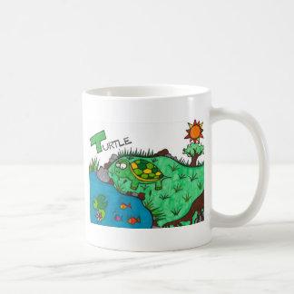 Kittlig sköldpadda kaffemugg