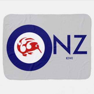 Kiwi Roundel Bebisfilt
