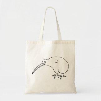 Kiwifågel Budget Tygkasse