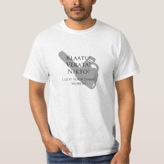 Klaatu Verata Nikto - armé av mörkerskjortor Tshirts