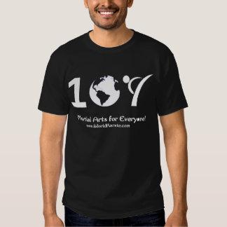 Kläder för en världsKaratemörk T Shirt
