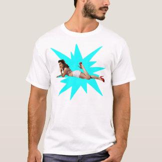 Klämma fast upp stjärnan tee shirt