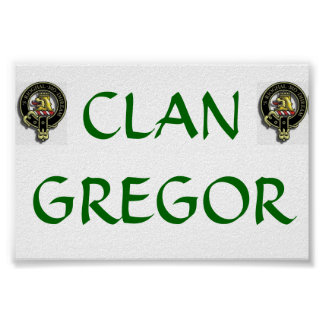 Klan Gregor Poster