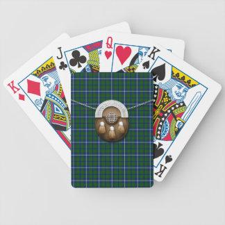 KlanDouglas Tartan och Sporran Spelkort