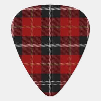 KlanMarjoribanks ljud av den Skottland tartanen Gitarr Plektrum