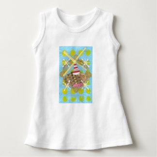 Klänning för Hamsterpariserhjulbaby T-shirts