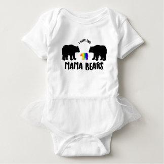 Klänning för Tutu för två mammabjörnar Tee Shirts