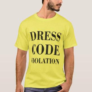 Klänningen kodifierar kränkning tee