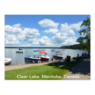 Klar sjö, nationalpark, Manitoba, Kanada Vykort