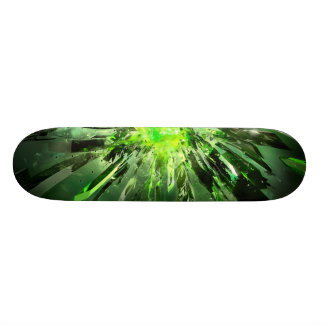 klartecken old school skateboard bräda 21,6 cm