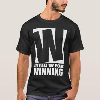 Klassad W för att segra - mörk T Shirt