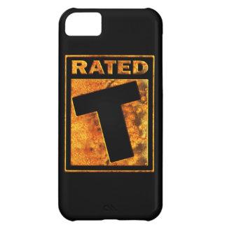 Klassat-T för tonåring iPhone 5C Fodral