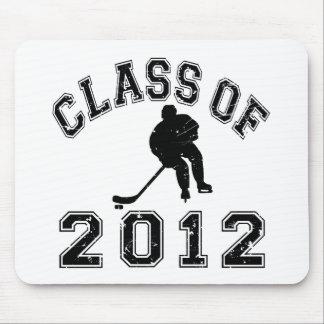 Klassificera av 2012 hockey - svart 2 D Musmatta