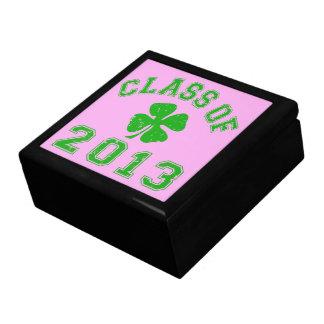 Klassificera av 2013 - den lyckliga shamrocken smyckeskrin
