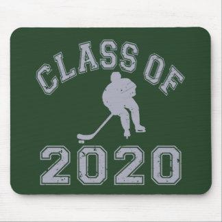 Klassificera av 2020 hockey - grå färg musmatta
