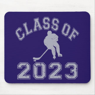 Klassificera av 2023 hockey - grå färg 2 musmatta