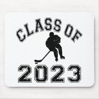 Klassificera av 2023 hockey - svart 2 musmatta