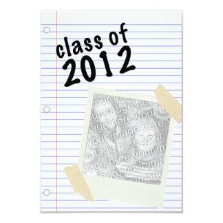 klassificera av anteckningsbokpapper 2012 8,9 x 12,7 cm inbjudningskort