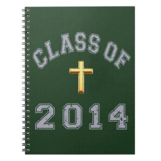 Klassificera av den arga kristen 2014 - grå färg 2 anteckningsbok
