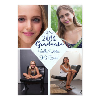Klassificera av doktorand- mång- foto 2016 12,7 x 17,8 cm inbjudningskort