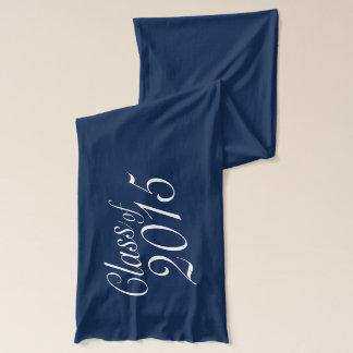 Klassificera av elegantstudenten för 2015 blått halsduk