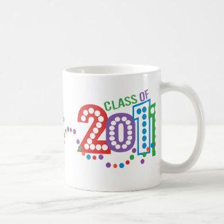 Klassificera av firande 2011 kaffemugg