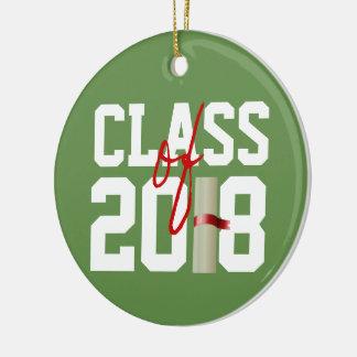 KLASSIFICERA av prydnad för 2018 jul Julgransprydnad Keramik