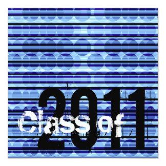 Klassificera av studenteninbjudan 2011 STD344 Fyrkantigt 13,3 Cm Inbjudningskort