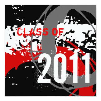 Klassificera av studenteninbjudan 2011 WD281 Fyrkantigt 13,3 Cm Inbjudningskort