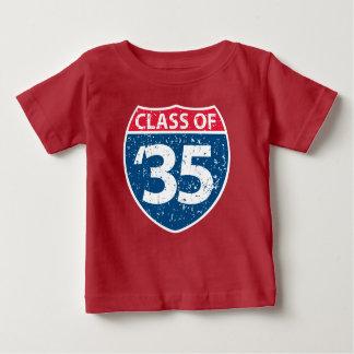 Klassificera av T-tröja för 2035 baby Tee Shirts