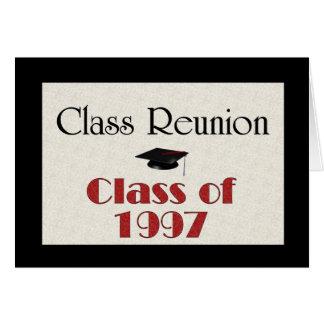 Klassificera mötet 1997 hälsningskort
