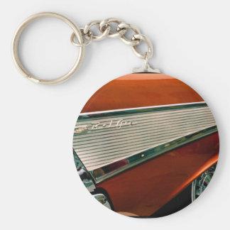 Klassiker 1957 BelAir Chevy Rund Nyckelring